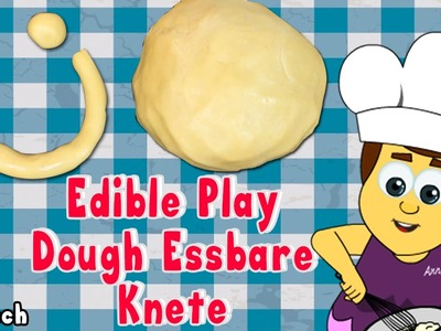 German DIY Rezepte: How To Make Edible Play Doh | Essbare Knete