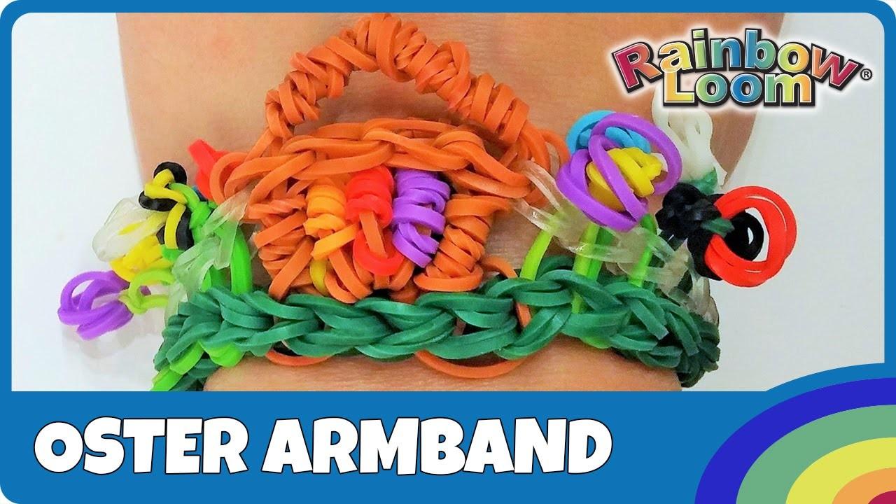 Rainbow Loom Oster-Armband - deutsche Anleitung