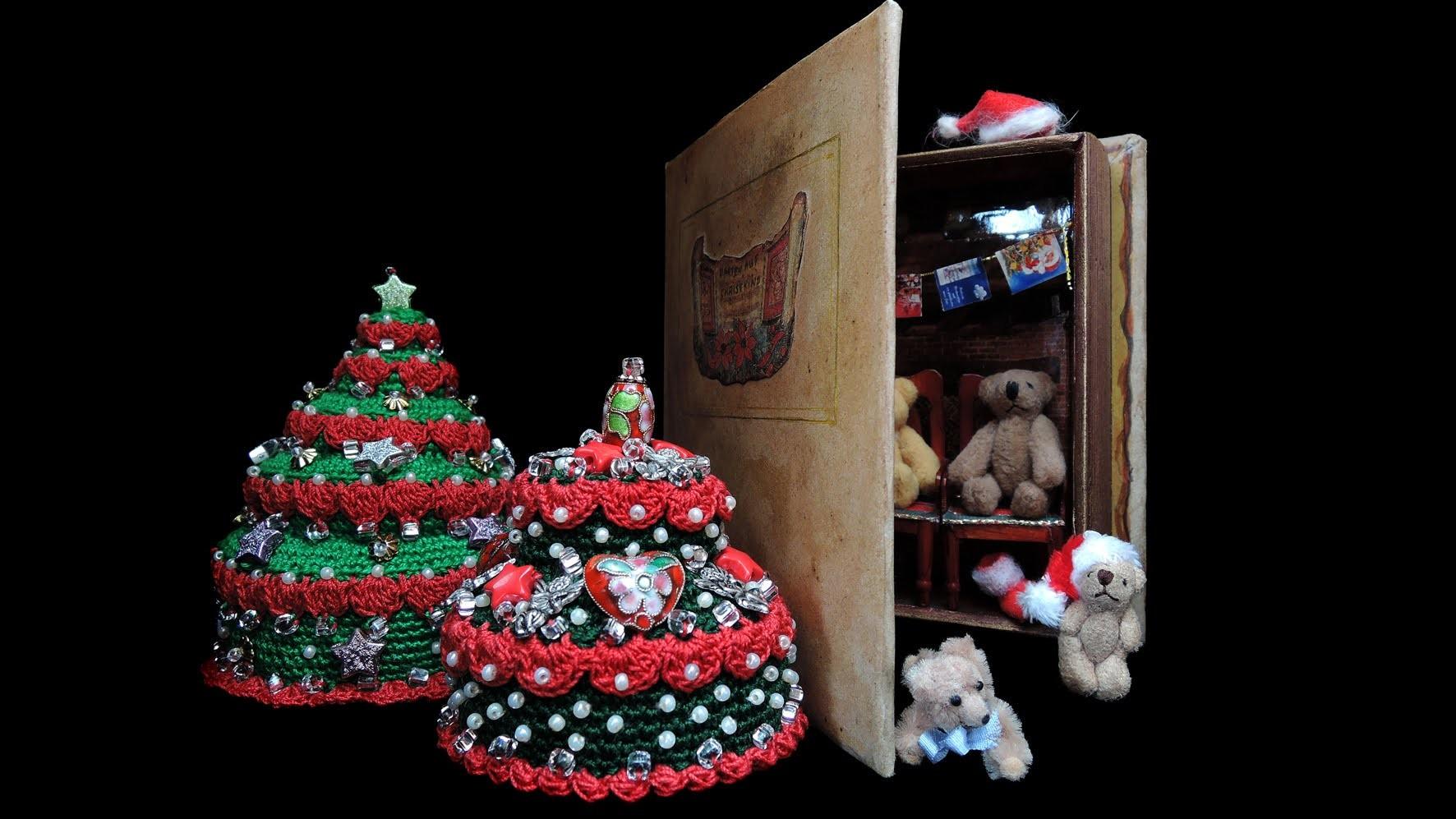 Warten aufs Christkind, Christmas, CROCHET HÄKELN