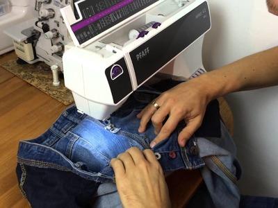 Jeans Aid Kit: Schürfwunden – DIY Tutotrial – walterlunzer.com