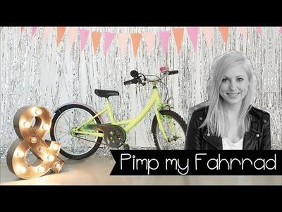 Pimp Dein Bike mit Nagellack! | Fahrrad aufmotzen | Marmorieren | DIY | KINNERTIED | #19