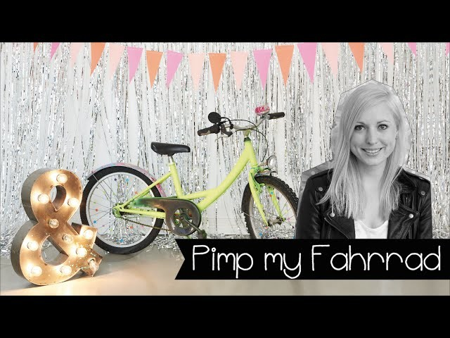 Pimp Dein Bike mit Nagellack!   Fahrrad aufmotzen   Marmorieren   DIY   KINNERTIED   #19