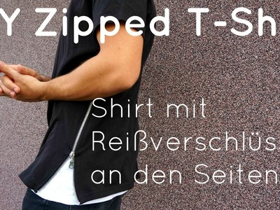 DIY   Zipped T-Shirt in 10 Minuten