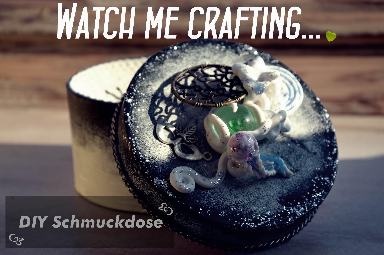 WATCH ME CRAFTING.  - Schmuckdose basteln | DIY | How to.  |Kiwilinchen007