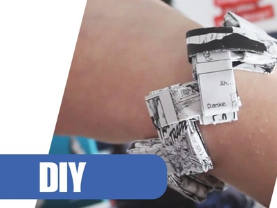 DIY: Armband im Manga Style selber machen! | Upcycling