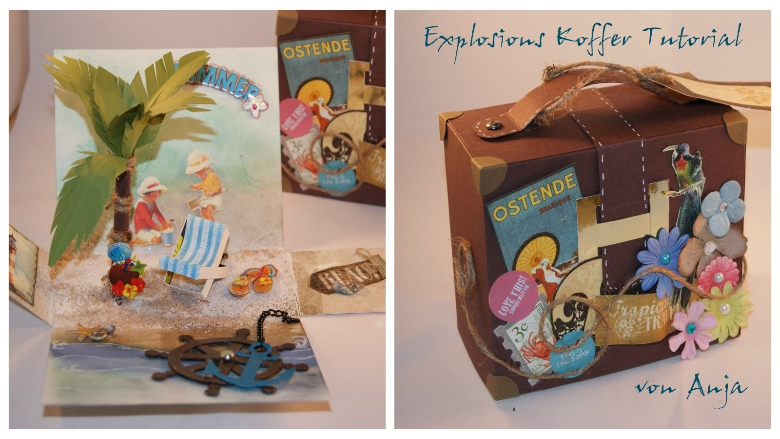 Explosionskoffer Tutorial (*KoOp*DIY*Craft*)
