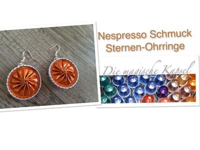 Nespresso Kapsel Schmuck Anleitung Ohrringe. Die magische (Kaffee-) Kapsel