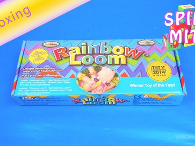Rainbow Loom Unboxing deutsch Starter Kit Review Original Rainbow loom Set