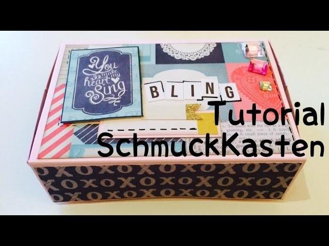 Scrapbook***Schmuckkästchen***DIY*** [tutorial | deutsch]