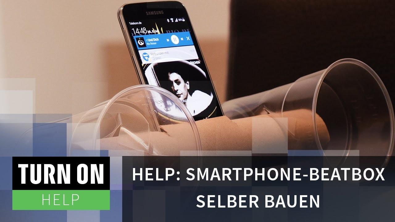 Smartphone-Beatbox selber bauen - HELP - 4K