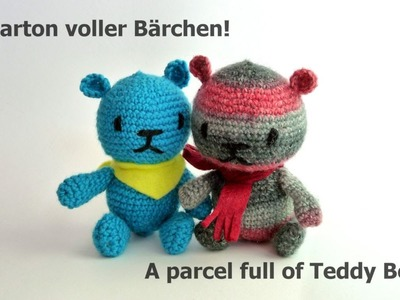 Bärchen für Kinder häkeln! -  Crocheting for kids!
