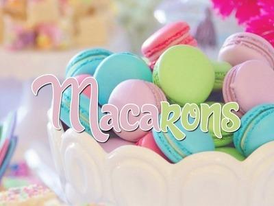 Clean Baking | MACARONS mit Füßchen