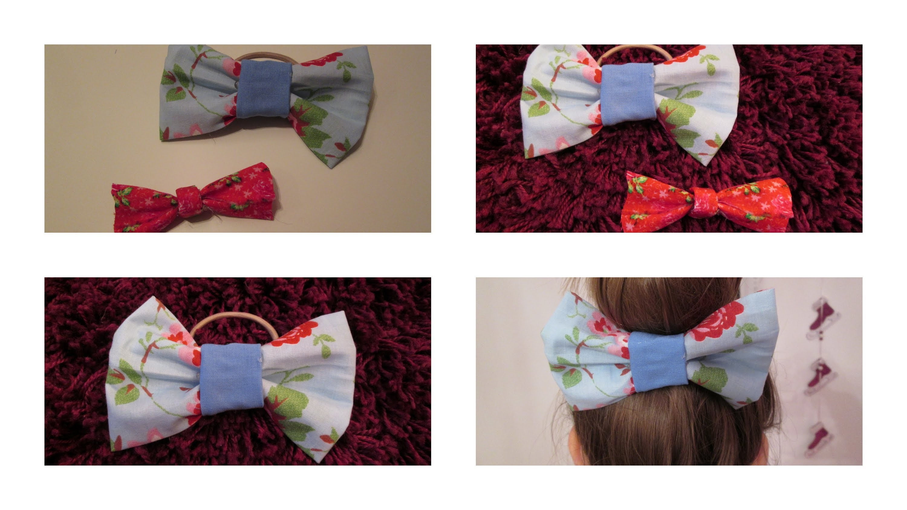 Diy: Stoffschleifen.Bows | by Isi-Made ♥