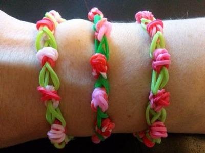 Rosen Armband,Crazy Loom,Rainbow Loom,Zauber Loom,Deutsch