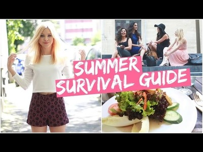 Summer Survival Guide I DIY EISTEE, FASHION ESSENTIALS, MÄDELSABEND