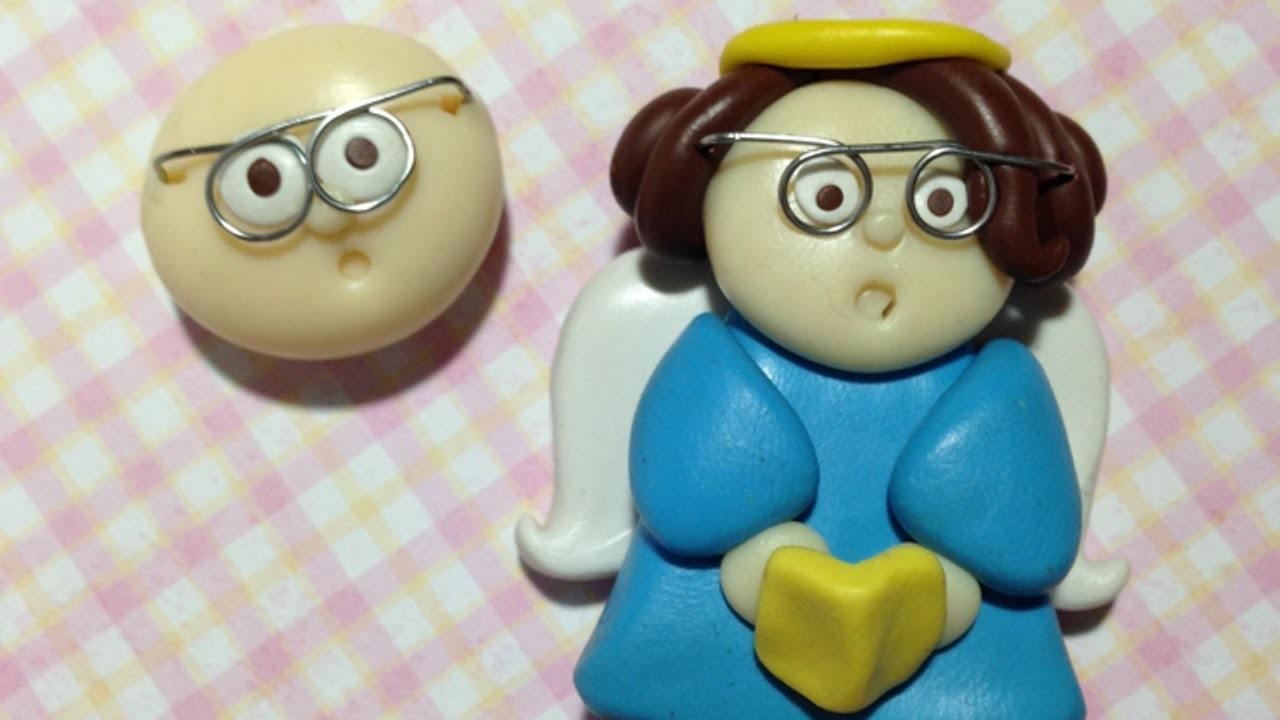 Süße Polyclay Gesichter Mit Brille Machen - DIY Crafts - Guidecentral
