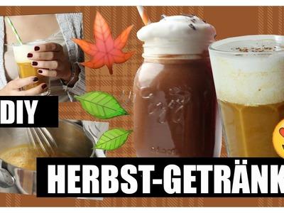 DIY Herbst-Getränke: Pumpkin Spice Latte & Hot Chili Chocolate VEGAN