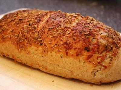 REZEPT: PARMESAN OREGANO BROT BREAD BAGUETTE von Subway - zu Hause selbst gemacht