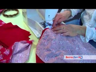 Bastelzeit TV 28 - Tilda Handtasche Special
