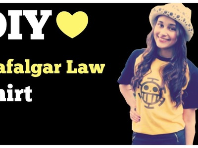 DIY- Trafalgar Law Shirt