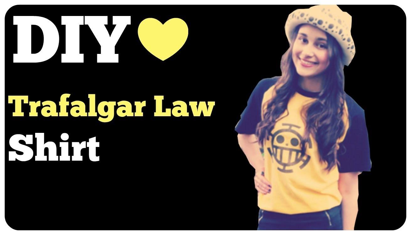 DIY- Trafalgar Law Shirt