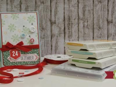 DIY - 12 Karten bis Weihnachten - #08 - Stampin' Up!