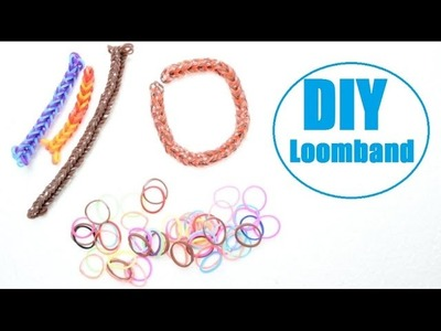 DIY Rainbow Looms. Loombänder. Loombands basteln (Anleitung Deutsch)