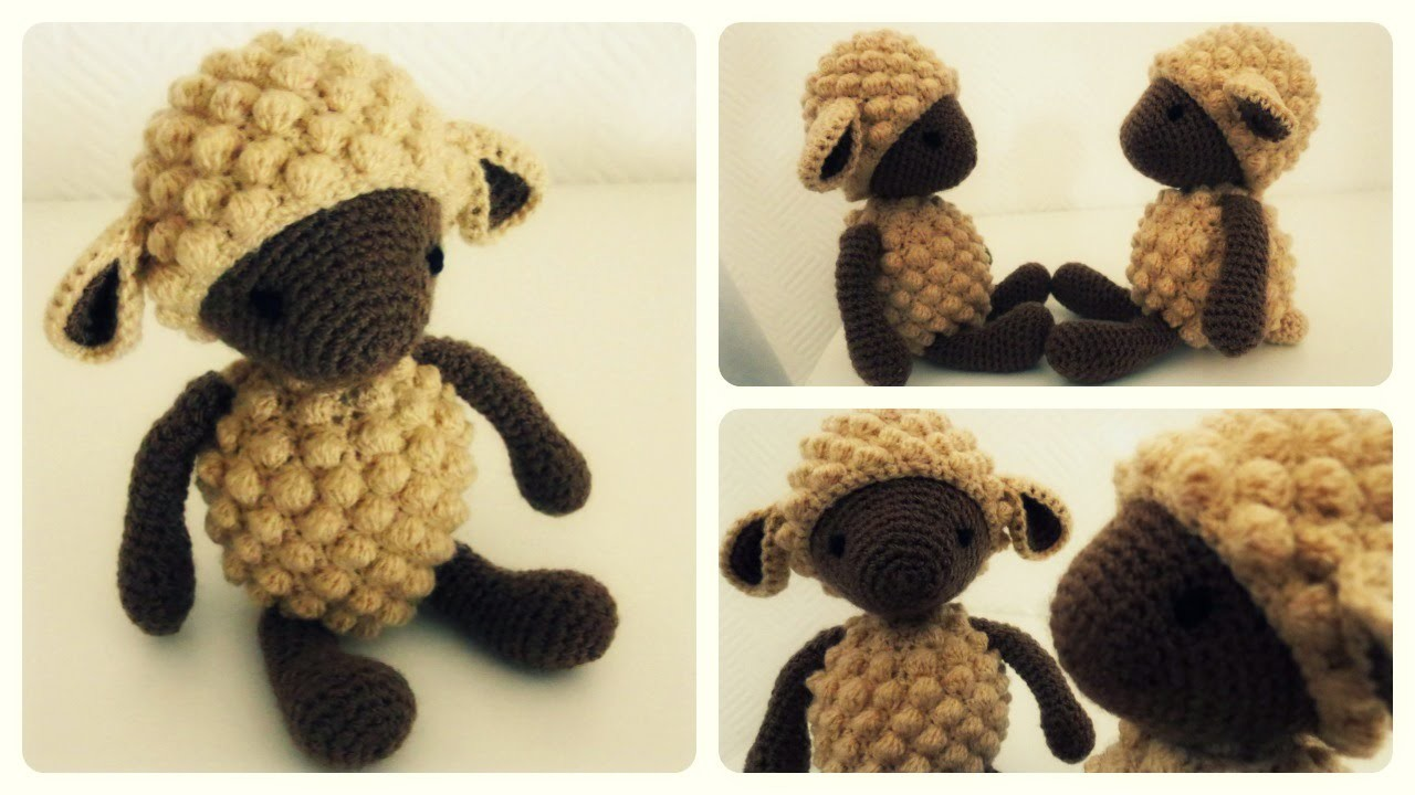 Häkelschaf Teil 1.2 * Tutorial * Crochet Sheep [eng sub]