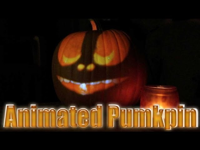 Halloween DIY: Animated Pumpkin