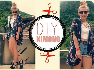 DIY | Easy Kimono + Neue Fashionreihe
