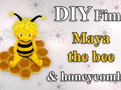 FIMO Biene Maja: Polymer Honeycomb (Resin) - Tutorial [HD.DE] (EN-Sub)