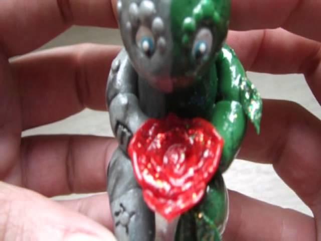 Fimo, polymer, sculpey, premol, Flowerstone