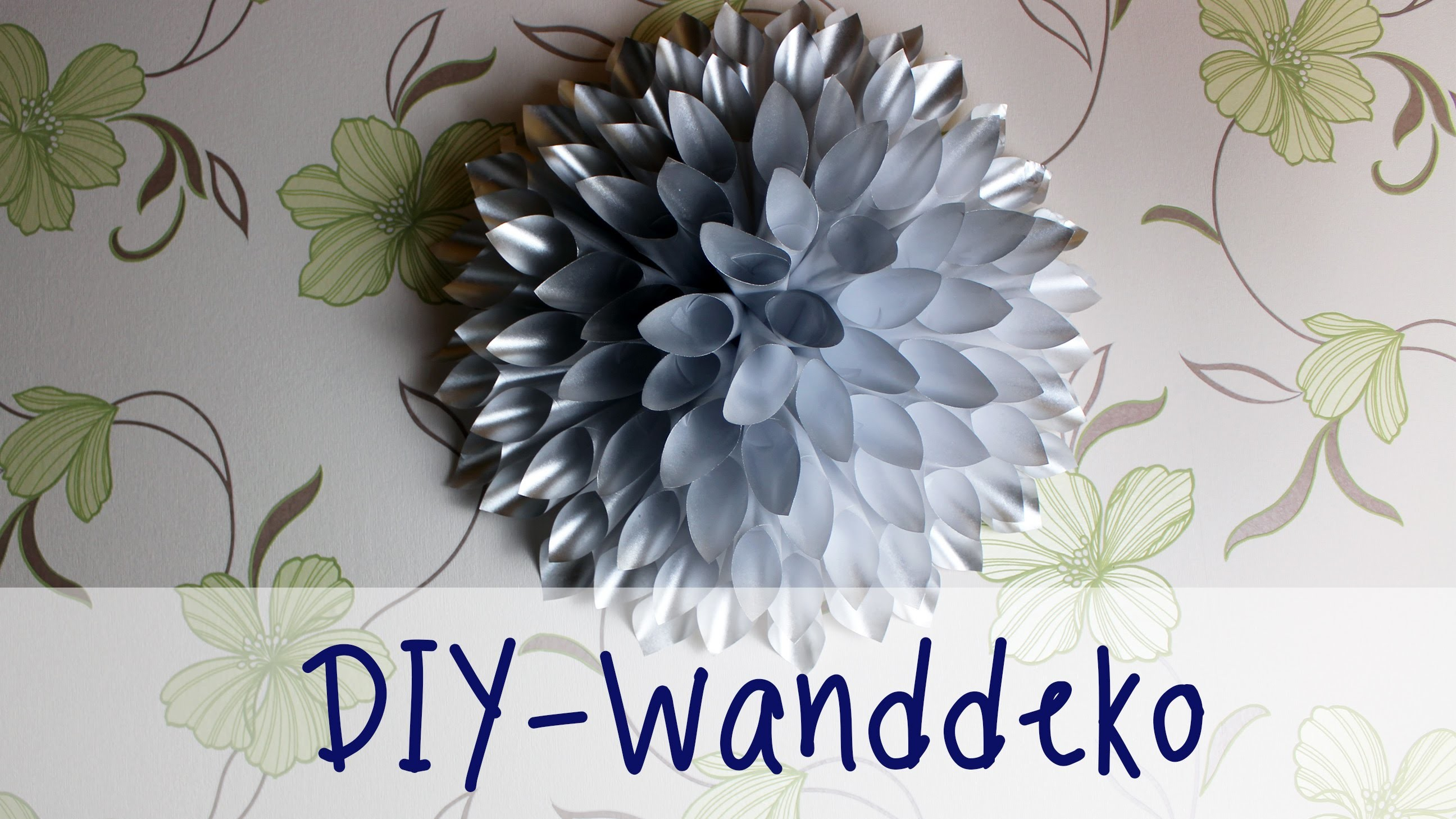 Julia's tillishop DIY's: günstige Wanddeko