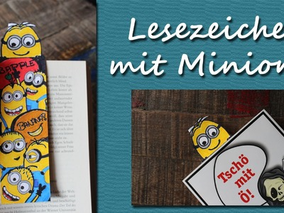 DIY Speed Drawing: Lesezeichen mit Minions - Minion Bookmark | kreativBUNT