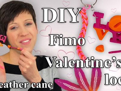 FIMO Valentinstag Schloss: Polymer Valentine's Day Lock - Tutorial [HD.DE] (EN-Sub)