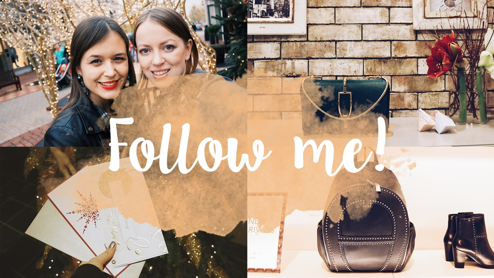 FOLLOW ME: DIY-Workshop, XMAS-Shopping, Blogger-Dasein