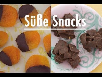 Rezept: Aprikosen im Schokomantel. Cornflakes Schoko Pralinen - DIY: gesunde & süße Snacks