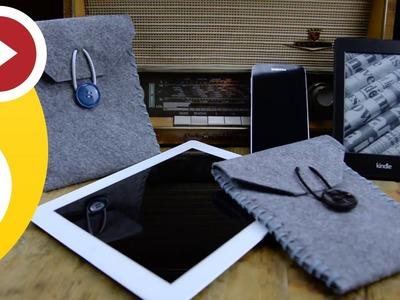 Beste Anleitung! DIY Kindle. iPad. iPhone. Samsung Galaxy - Case (Geschenkidee)