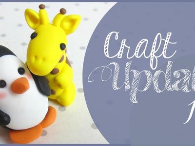 CRAFT Update 13 | Weihnachtskarten & Fimotiere ♡