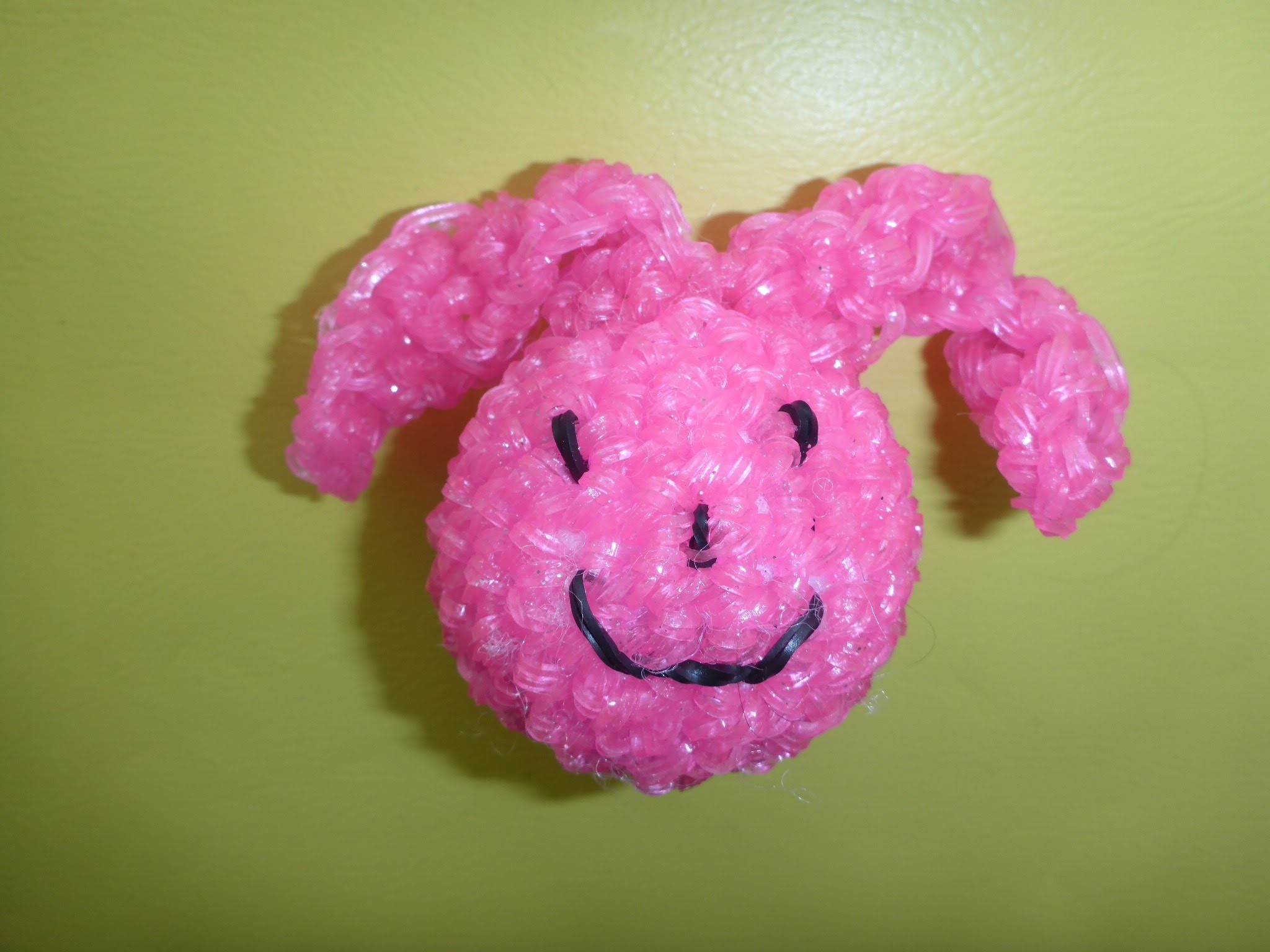 Loom Bands Rainbow Osterhase, DIY Hase Ostern Easter Bunny Anleitung