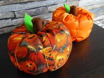DaIsY´s DIY - Kürbis für Halloween nähen