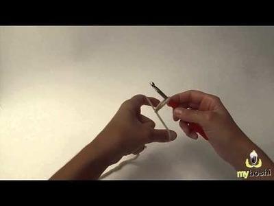 Myboshi - Die Handhaltung beim Häkeln