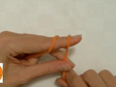 Stricken wir! Basics 1 - Die Anfangsschlinge beim Stricken & Häkeln (slip knot)