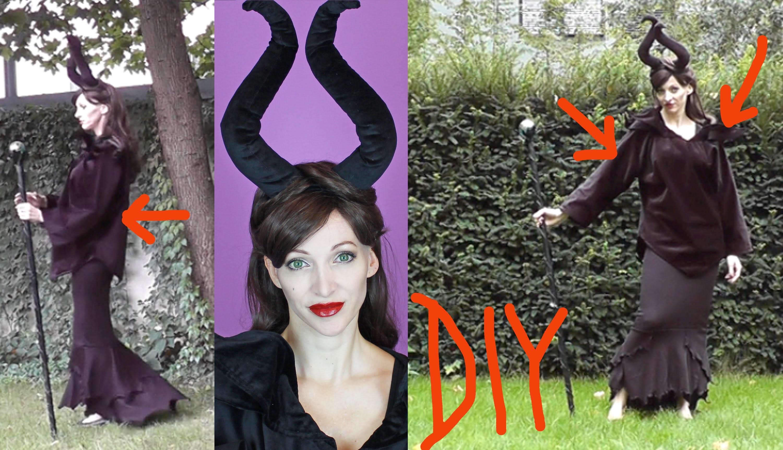 DIY Maleficent Kostüm - Halloween 2015 #3