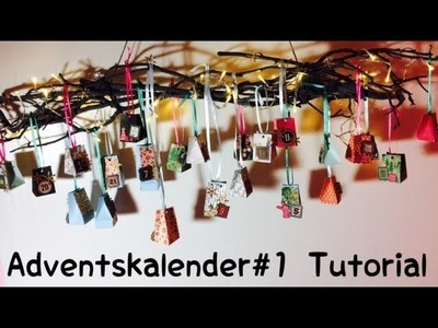 DIY Adventskalender #1 [ tutorial | deutsch]