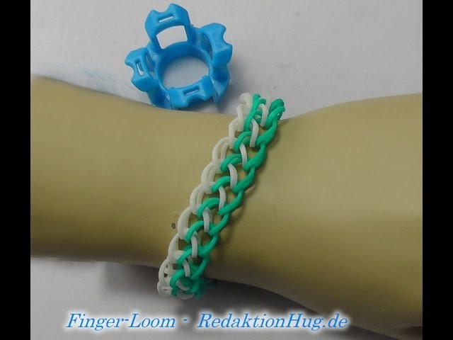 Loom Bands - Rainbow Loom - Finger-Loom - Band L - Veronika Hug