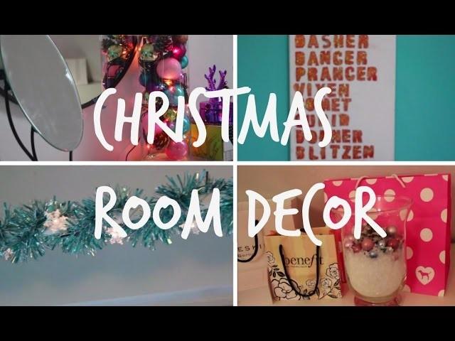 CHRISTMAS. HOLIDAY ROOM DECOR DIY 2015 (german)