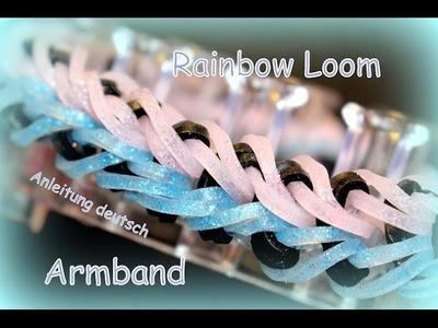 Loom Bands Armband Rainbow Loom Loom Bandz Bracelet Anleitung deutsch