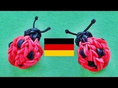 Loom Bandz Anleitung Deutsch   Marienkäfer Rainbow Loom Deutsch