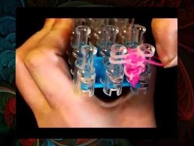 Loom Bandz Armband Bracelet, Rainbow Loom deutsch, Armbänder selber machen